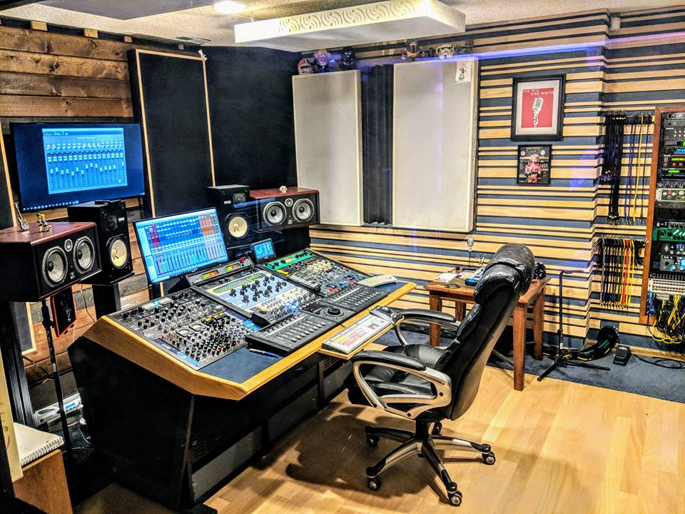 Control Room Colorado Recording Studio CO Monument Sound